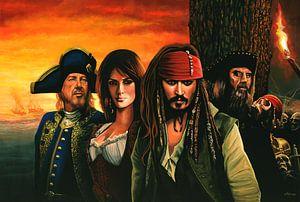 The Pirates of the Caribbean Schilderij