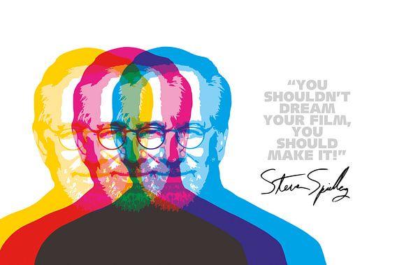 Steven Spielberg Quote van Harry Hadders