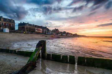 Stimmungsvoller und farbenfroher Sonnenuntergang von Mark Bolijn