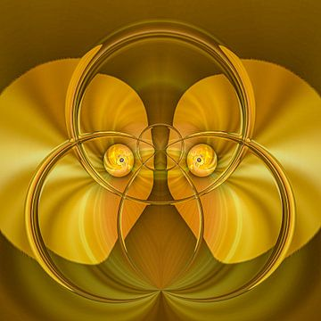 Fantasierijke abstracte twirlillustratie 106/80 van PICTURES MAKE MOMENTS