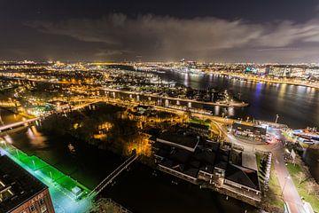 A'DAM toren - Panoramaview over Amsterdam. (13) van Renzo Gerritsen