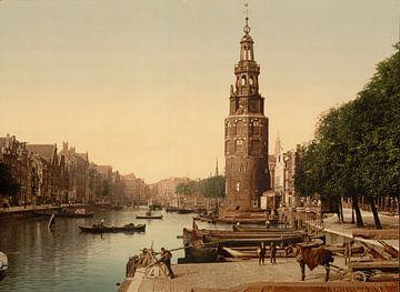 De Oudeschans, Amsterdam von Vintage Afbeeldingen