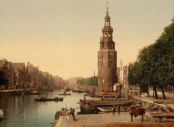 De Oudeschans, Amsterdam van Vintage Afbeeldingen