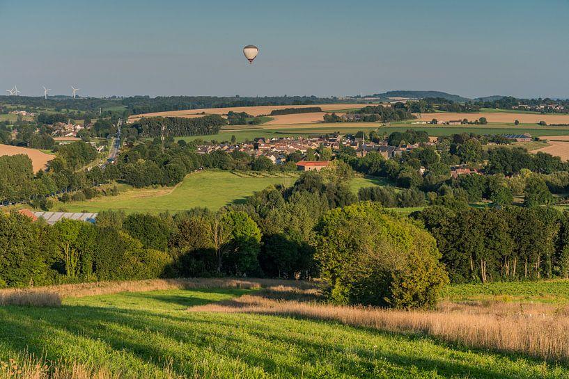 De luchtballon is van de Partij van Jeroen de Jongh