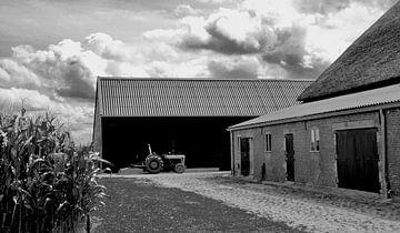 Bauernhof auf der Insel Tiengemeten von Sven Zoeteman