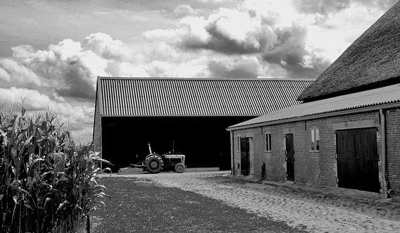 Bauernhof auf der Insel Tiengemeten