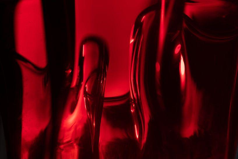 Rood glas van René van der Horst
