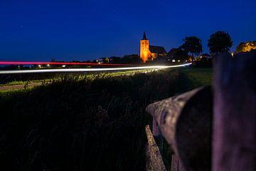Landschaftliche Überschwemmungsgebiete bei Wilsum von Fotografiecor .nl