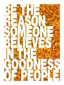 Be The Reason van