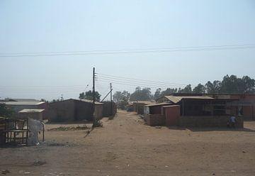 'Straat', Lusaka- Zambia van Martine Joanne