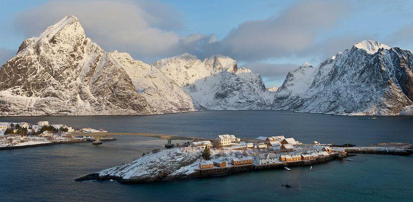 Noorwegen, Sakrisøya van Conny  van Kordelaar