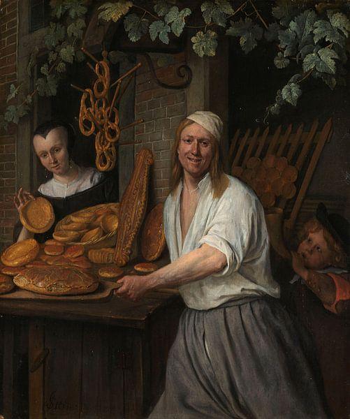 Bäcker Arent Oostwaard und seine Frau, Jan Havicksz. Stein von Meesterlijcke Meesters