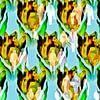 Bitcoin mania (crypto tulp met mensenmassa) van Ruben van Gogh thumbnail