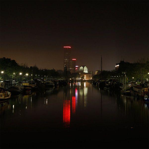 Skyline Leeuwarden van Martzen Fotografie