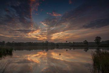 sunrise on the fens van Edwin Hoek