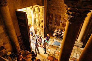 Heilig Grafkerk Jezus in Jeruzalem, Israël van Sjouke Hietkamp