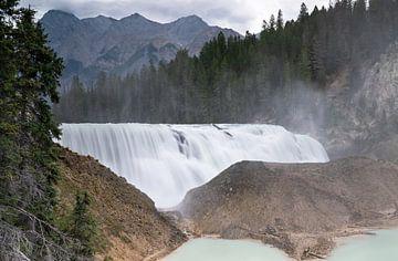 Wapta Falls, Yoho National Park, British Columbia, Canada van Alexander Ludwig