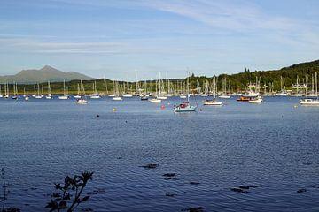 Haven bij Dunstaffnage Castle, Schotland, Verenigd Koninkrijk van Babetts Bildergalerie