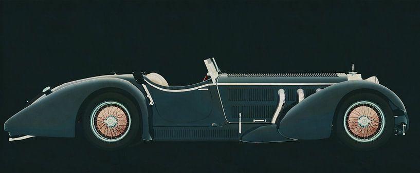 Mercedes - Benz SSK710 1930 von Jan Keteleer