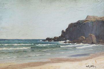 Ein Strand am Meer