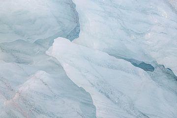 Gletschereis Ymerbukta, Spitzbergen von Michèle Huge