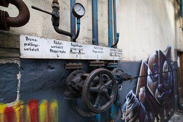 Verlaten urbex fabriek, urban exploring van Ger Beekes