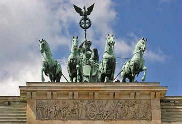 Quadriga op de Brandenburger Tor van Achim Prill