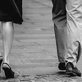 Zwartwit romance uit Parijs van Jerome Coppo