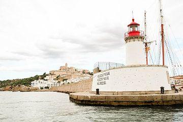 Vuurtoren Ibiza van Djuli Bravenboer
