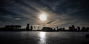 Rotterdam Skyline van John Ouwens