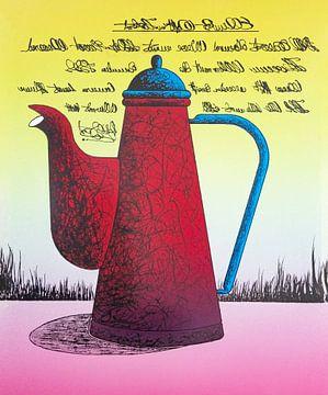 Rode Koffiekan van Helmut Böhm