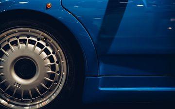 Bugatti EB110 GT detail van Willem Verstraten
