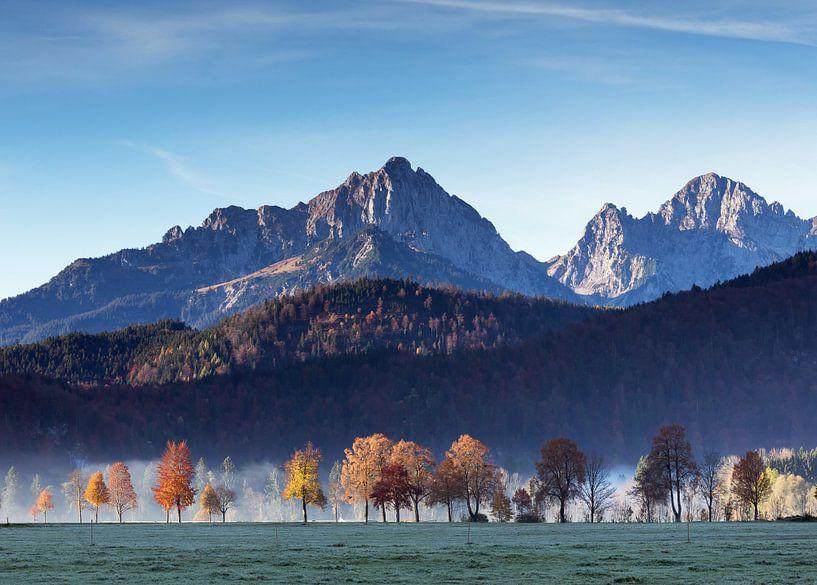 Herfst in de Allgäu van Frank Herrmann