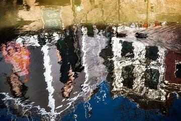 Utrecht vanaf het water van Jan van der Knaap
