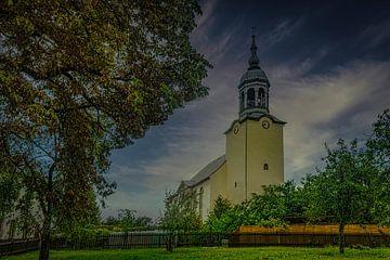 Kirche im mittleren Erzgebirgskreis von Johnny Flash