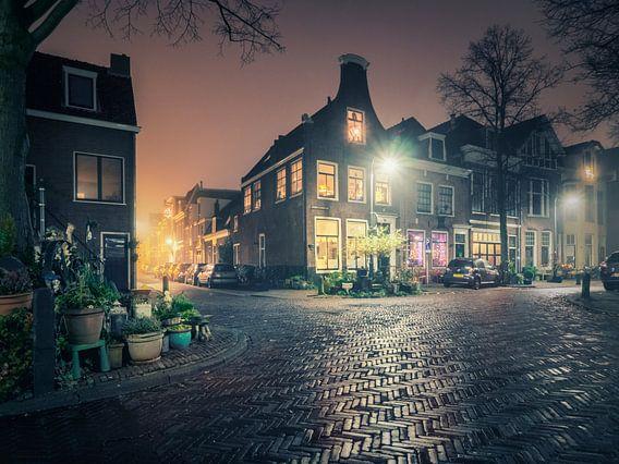 Haarlem: Gedempte Raamgracht. von Olaf Kramer