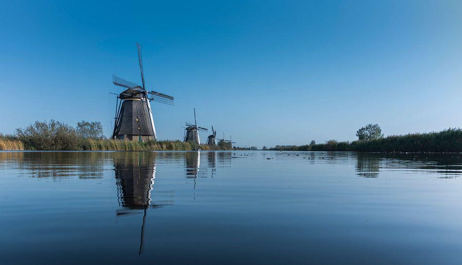 Windmolen Overwaard No. 4, Kinderdijk.