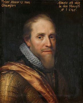 Maurice, Prinz von Oranien, Michiel Jansz. van Mierevelt