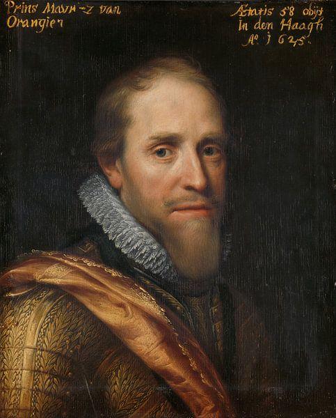 Maurice, Prinz von Oranien, Michiel Jansz. van Mierevelt von Marieke de Koning