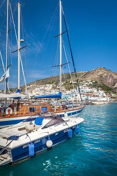Hafen von Sant Angelo, Ischia, Italien von Christian Müringer