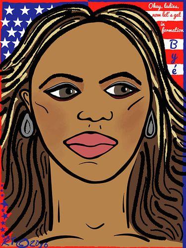 Beyoncé, in formatie! van