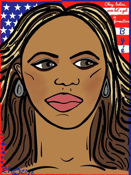 Beyoncé, in formatie! van Robbert Tilli