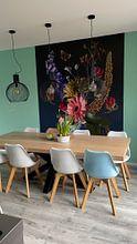 Kundenfoto: Royal Flora von Sander Van Laar, auf nahtloser fototapete