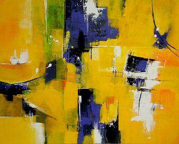 zonnig geel van Claudia Neubauer