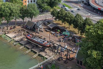 Chantier naval Koningspoort à Rotterdam sur MS Fotografie | Marc van der Stelt