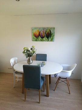 Kundenfoto: Tulpen von Gena Theheartofart