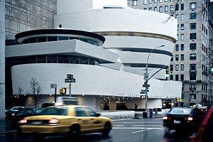 Guggenheim Museum New York van