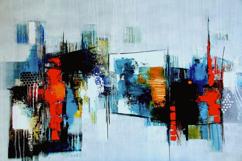 Abstrakte Komposition von Claudia Neubauer