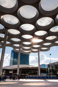 Stationsplein Utrecht  van Jan van der Knaap
