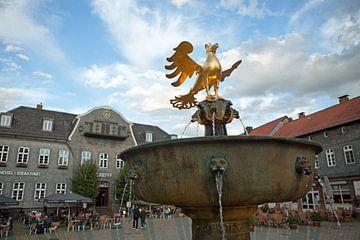 Goslar - Markt met marktfontein van t.ART